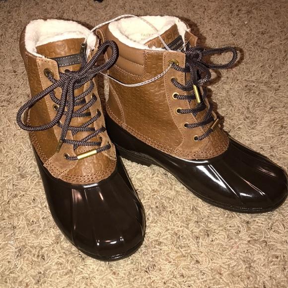 Nwt Michael Kors Duck Boots